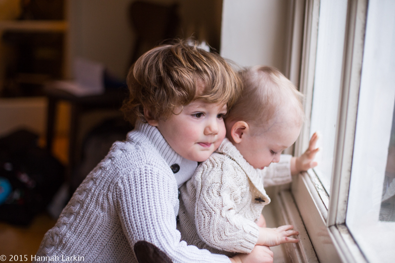 London Family Photography – Brothers Making Friends – Xander & Henry