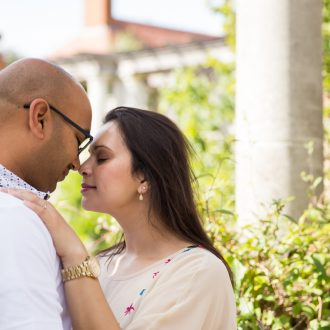 16 London engagement shoot Pergola Hill Garden Hampstead