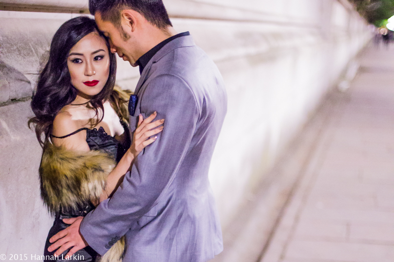 London Engagement Photography – Night Time Engagement – Natalie & Wayne