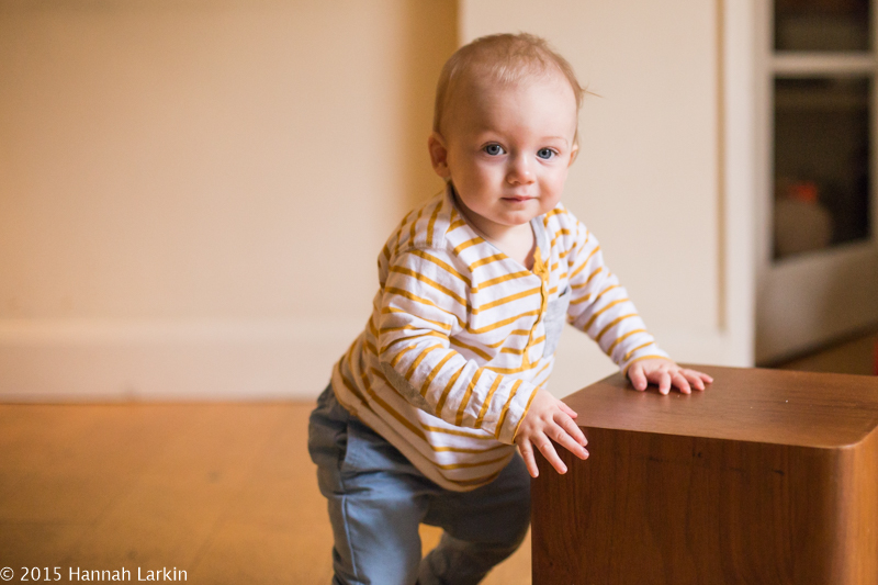 London Family Photography – 9 month old learning to walk – Henry