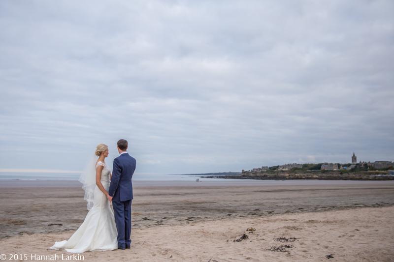 Wedding Photography – St Andrews Wedding by the sea – Lynsey & Sam