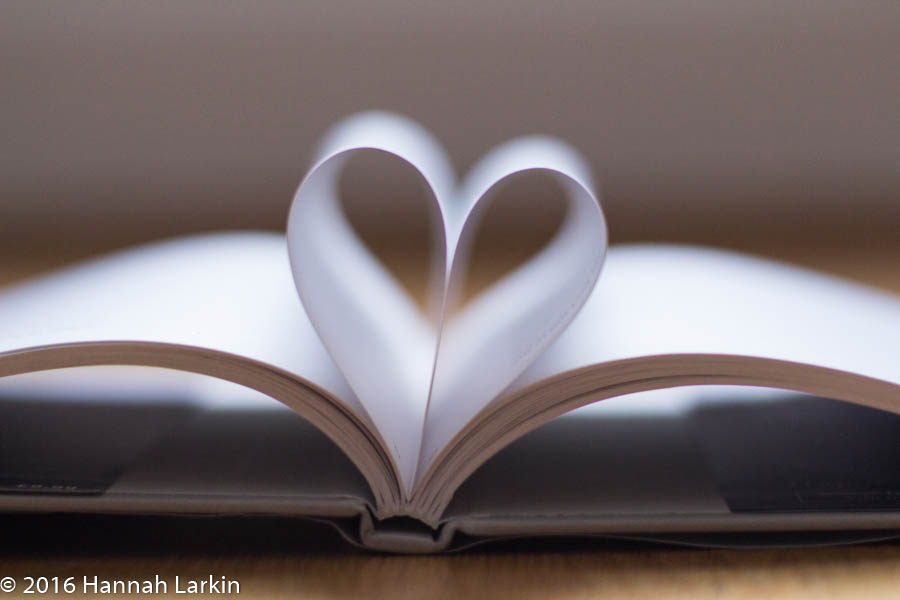 Love Books – Valentine's Day – A Book Lover's Heart