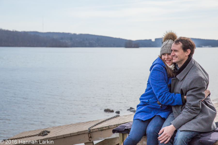 Engagement Photography – Connecticut Lakeside Engagement – Dana & Eoin