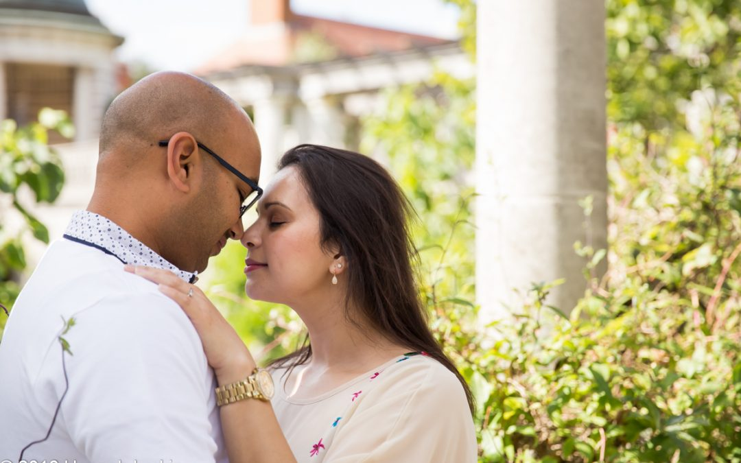 London Engagement Photography – Pergola & Hill Garden Engagement – Meera & Raj
