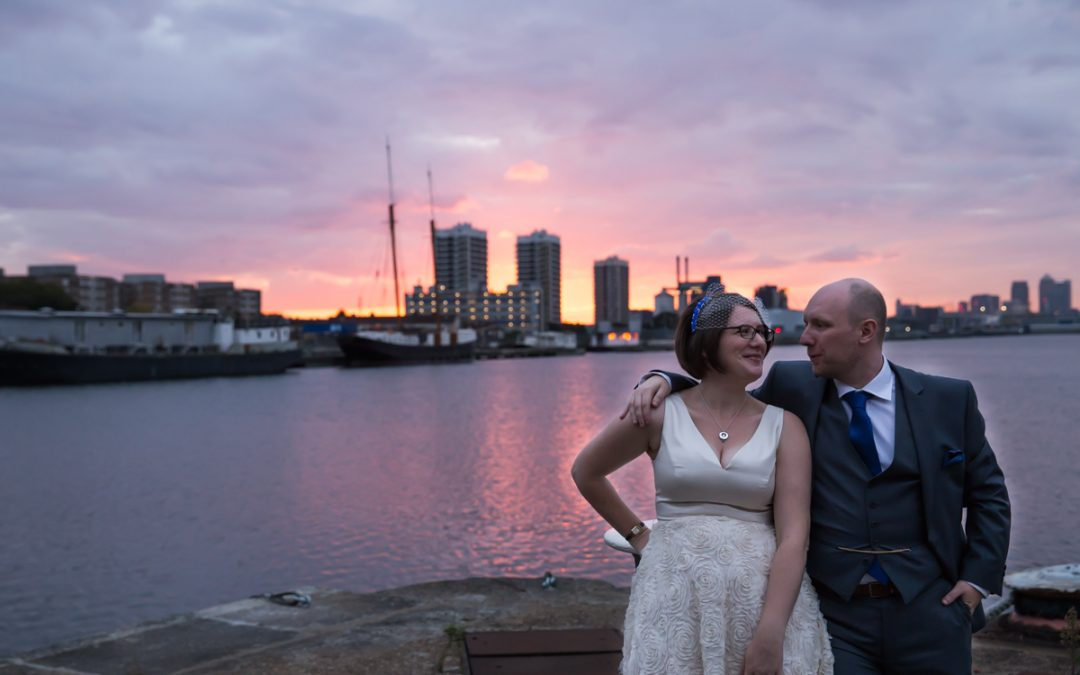London Wedding Photography – Riverside Wedding on the Thames – Sile & Andrew