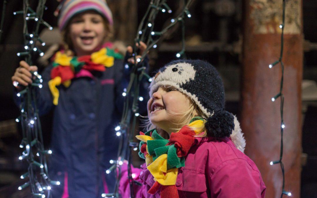 Family Photography – Christmas Family Photos at Beamish
