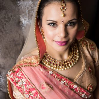 14 wedding photography London Indian bride jewellery