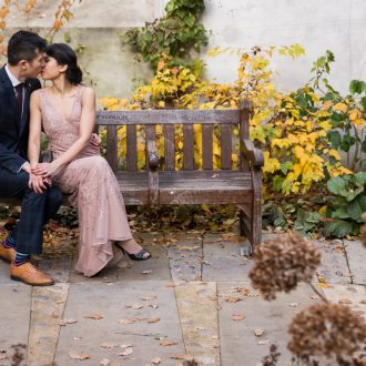 38 wedding outdoor photography London St Dunstan Church
