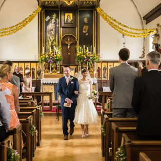 4 natural light wedding photography church wedding Oxford