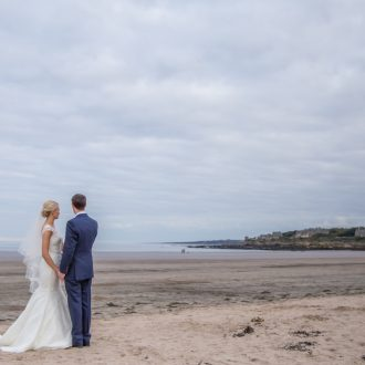 40 outdoor wedding ceremony beach St Andrews