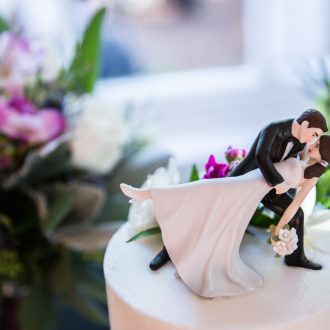 52 wedding photography London UK dipping dancers cake topper