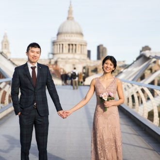 7 wedding photography London UK St Pauls Cathedral