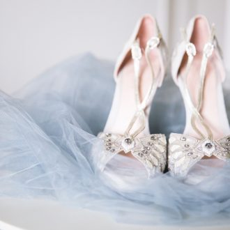 9 natural light wedding photography London grey veil shoes