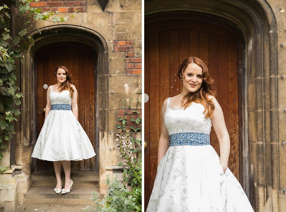 Cambridge college wedding