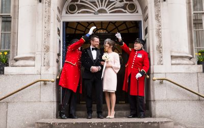 London Wedding Photography – Chelsea Old Town Hall London Elopement – Anneka & Kuba