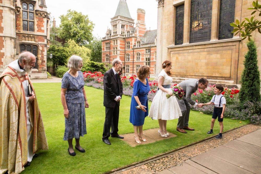 wedding planning receiving line