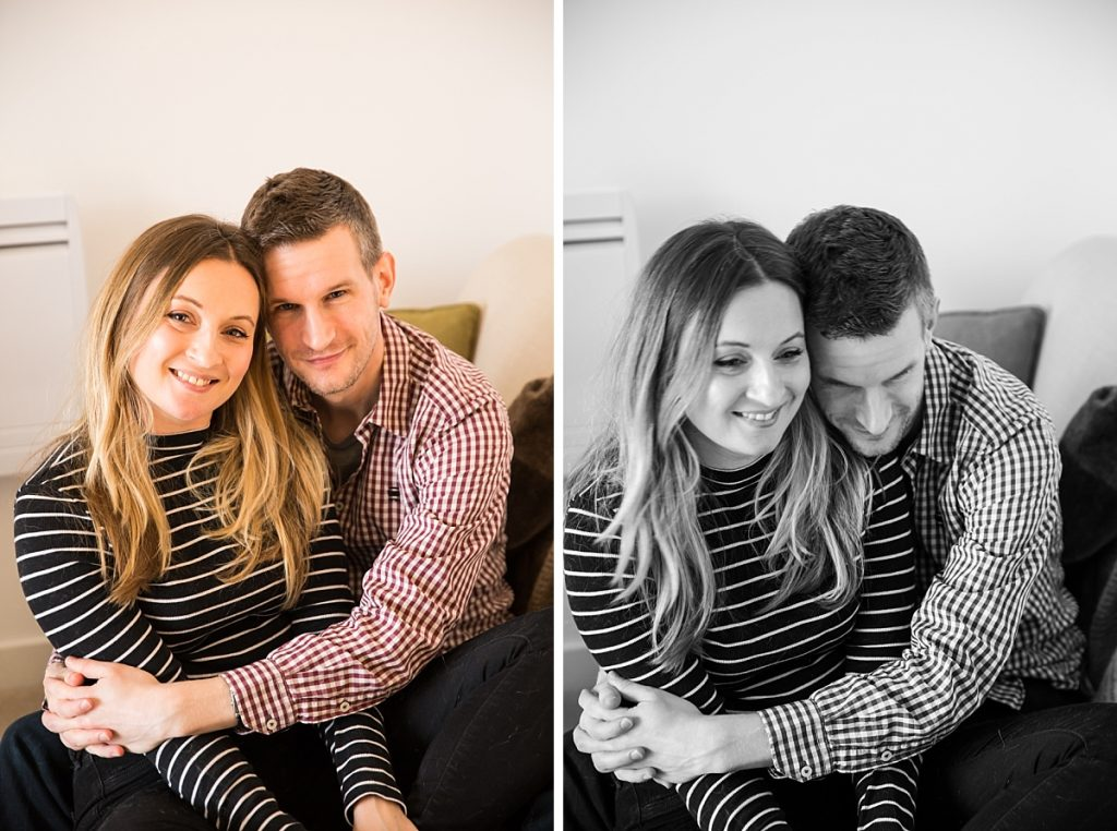 Relaxed London engagement photos
