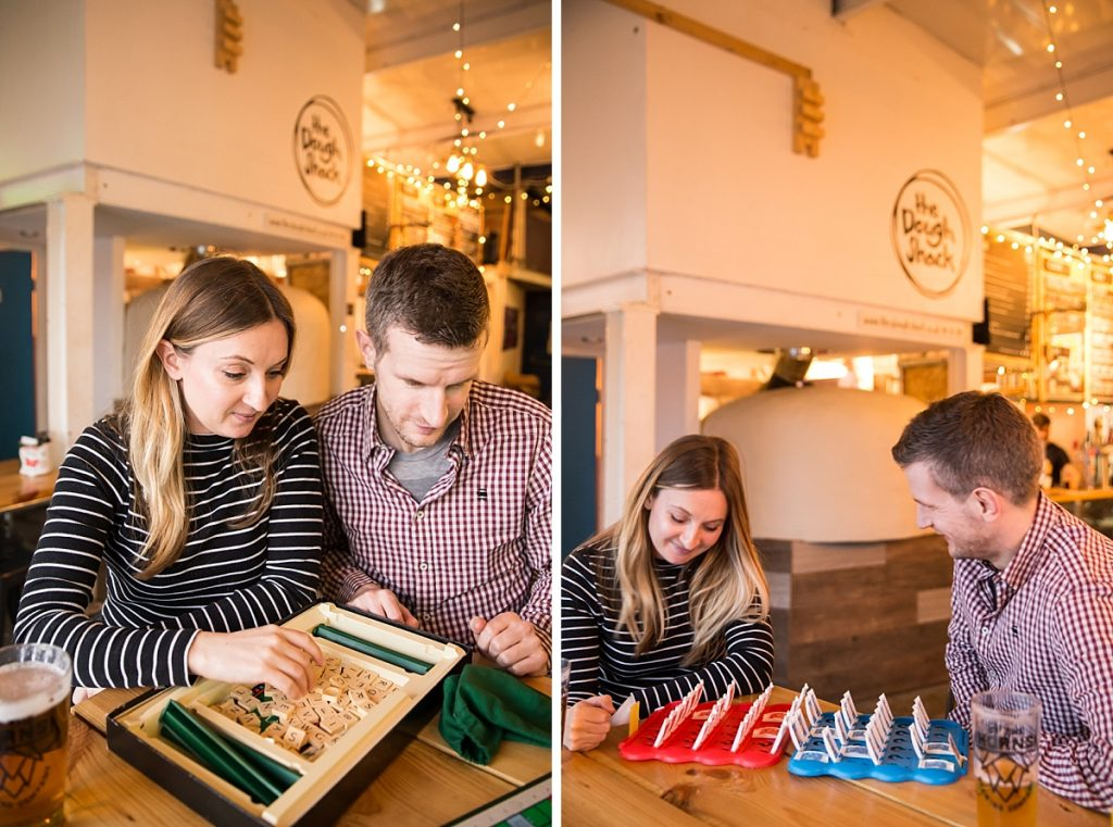 Board game engagement shoot London