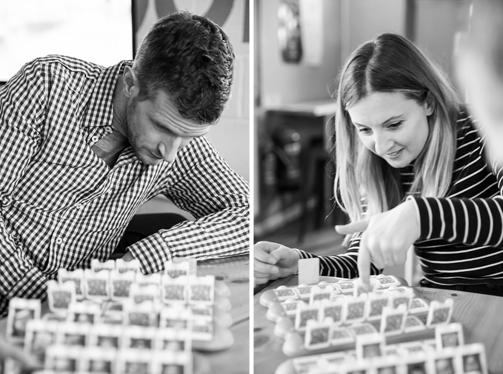 Relaxed fun engagement photography London
