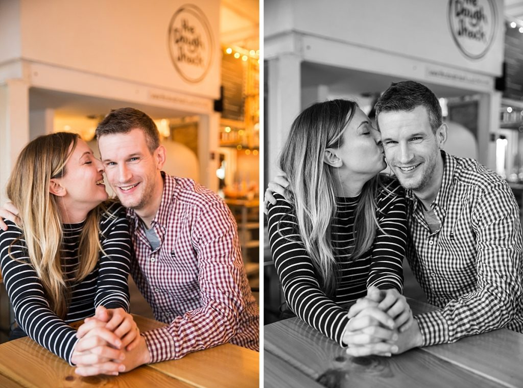 Wimbledon engagement shoot in favourite pub