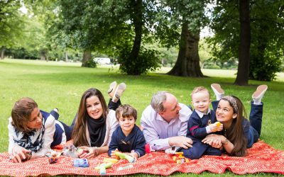 London Family Photography – Summer Family Photos at Victoria Park