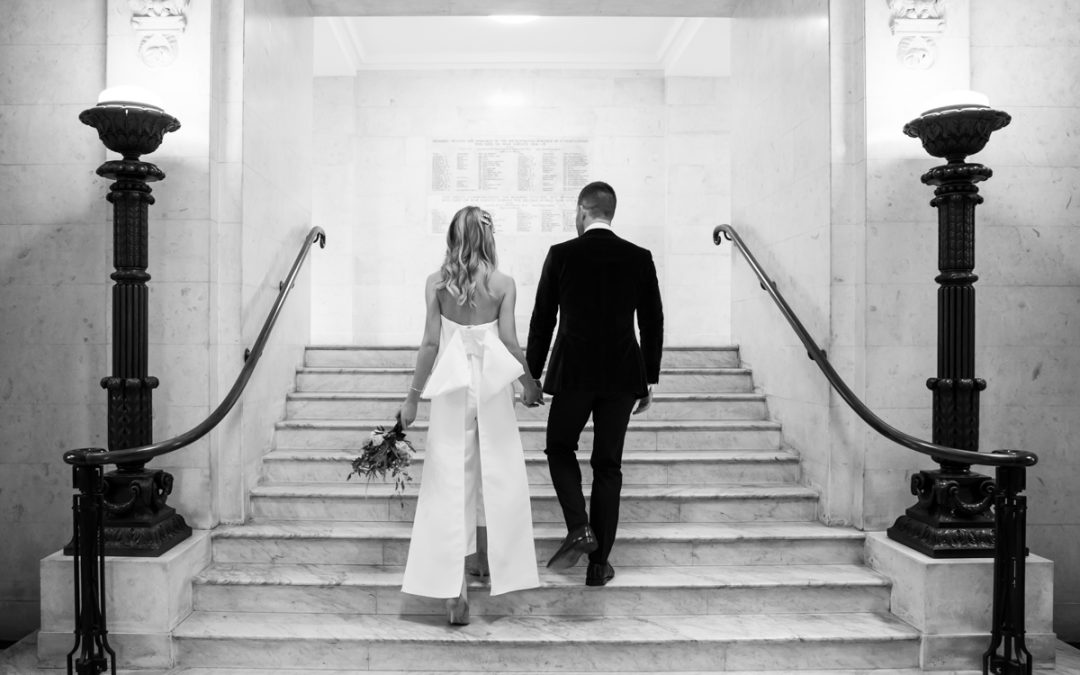 London Wedding Photography – Old Marylebone Town Hall Wedding – Cat & Andrew