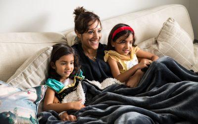 London Family Photography – 6 Family Photo Activities – Sarovi, Alba & Arya