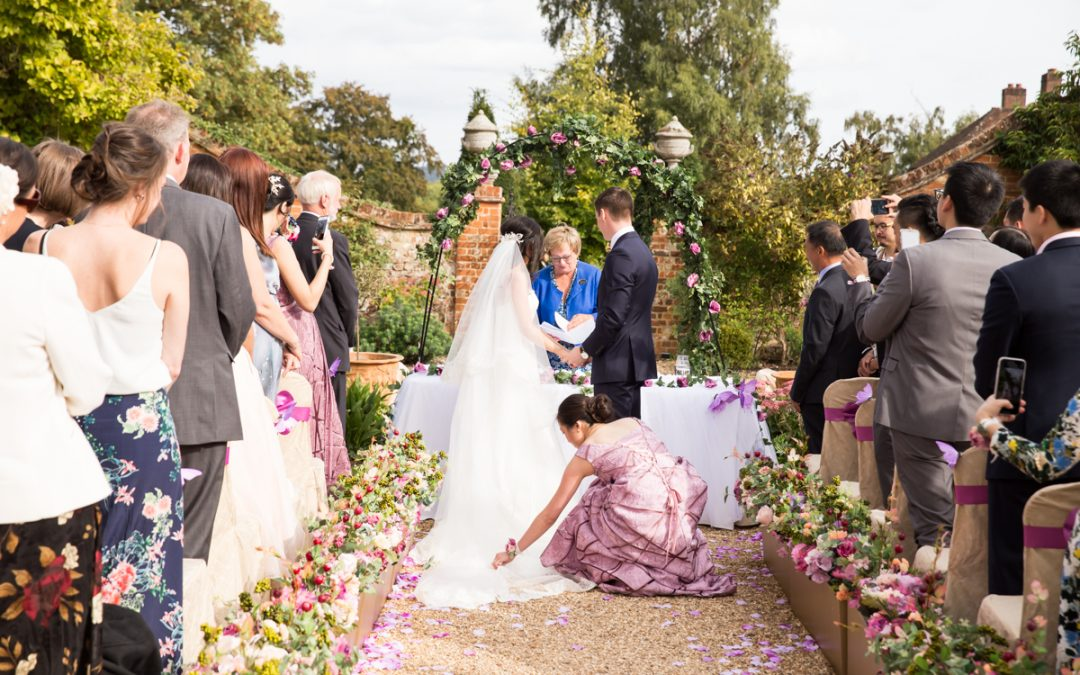 Wedding Photography – Four Seasons Hampshire Wedding – Claudia & James