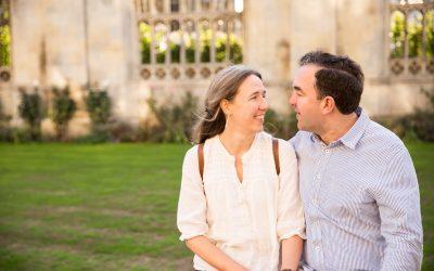 Cambridge Engagement Photography – Cambridge College Engagement Shoot – Aly & Hugh