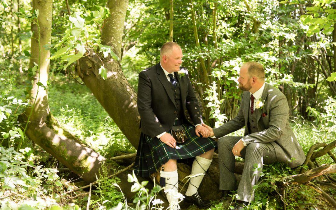 Hampshire Wedding Photography – Gay Wedding in a Vineyard – Richard & Calum